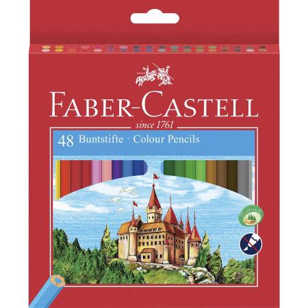Creioane Colorate Eco Faber-Castell, 6 culori1