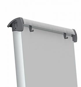 Flipchart magnetic, 100x68cm, reglabil pe inaltime, cu brate laterale retractabile, SMIT Shift5