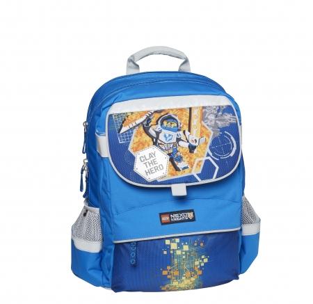 Ghiozdan scoala Starter Plus LEGO Core Line - design bleu Nexo Knights0
