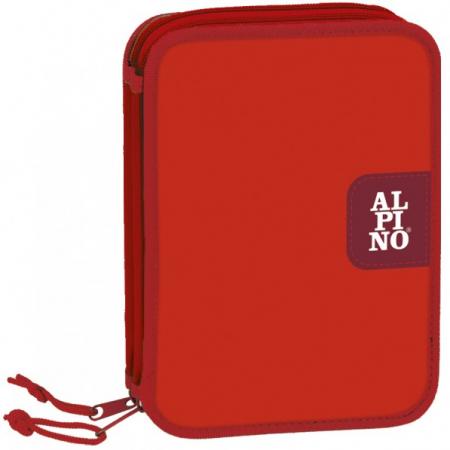 Penar dublu, cu 2 fermoare, echipat, ALPINO Red [1]