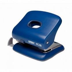 Perforator plastic RAPID FC30, 30 coli - albastru0