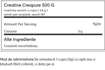 Dymatize CREATINE Creapure Monohydrate 500 g 1