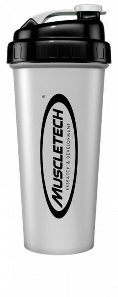 Muscletech Shaker Silver 700 ml 0