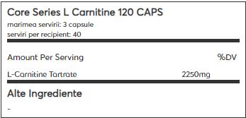 Mutant Carnitine 120 caps 1