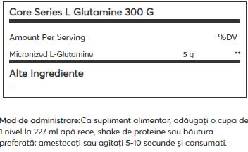 Mutant Glutamine 300 g 1