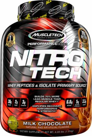 nitro tech proteina din zer 0