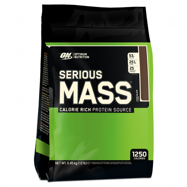 Optimum Nutrition Serious Mass 5.45 kg 12 Lbs 0
