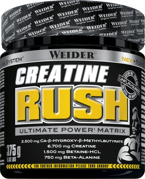Weider Creatine Rush 375 g 0