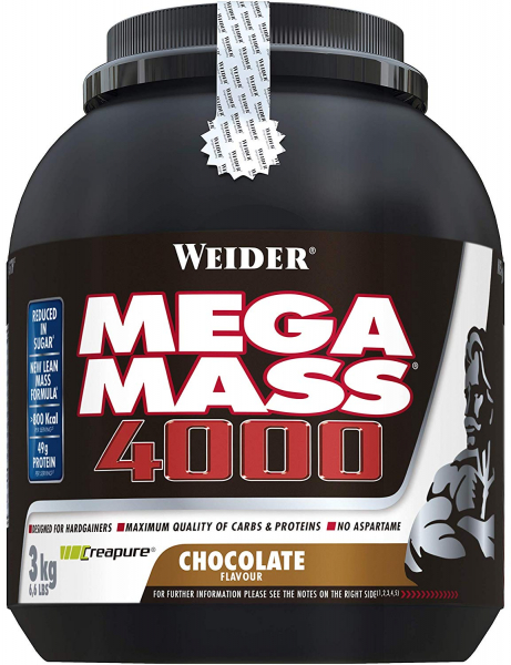 Weider Mega Mass 4000 3 kg 0