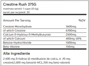 Weider Creatine Rush 375 g1