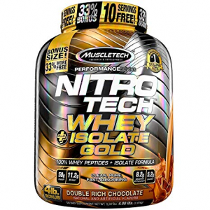 Nitrotech Whey Plus Isolate Gold 4lb 1.8 kg0