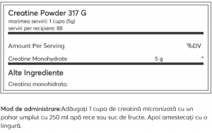 Optimum Nutrition Creatine Micronised Powder 317 g1