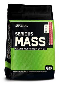 Optimum Nutrition Serious Mass 5.45 kg 12 Lbs0