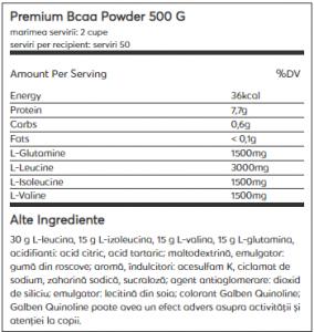 Weider Premium BCAA Powder 500 g1