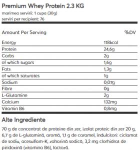 Weider Premium Whey Protein 2.3 kg1