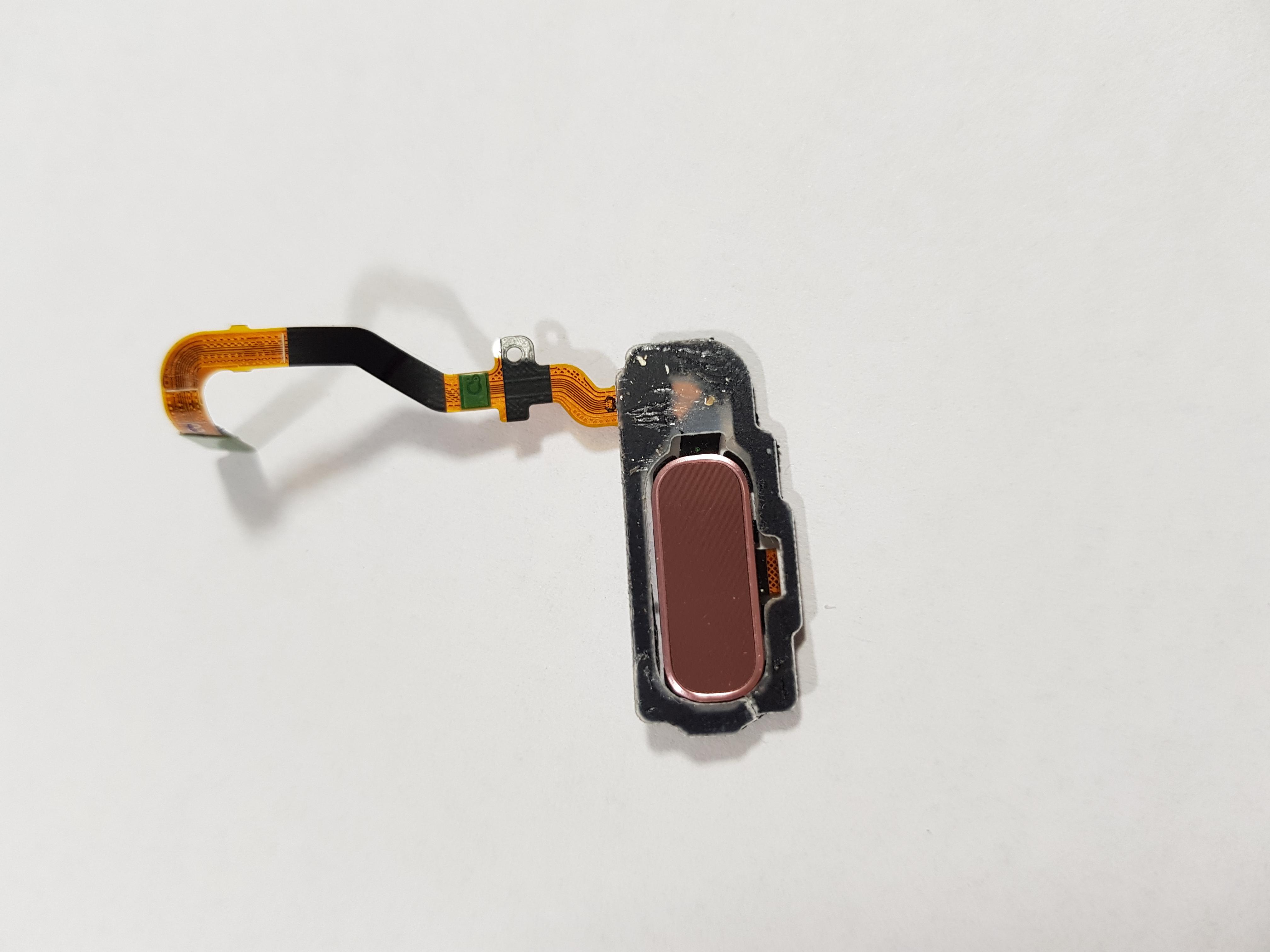 Senzor amprenta buton home Samsung S7 G930f Pink roz original swap 0