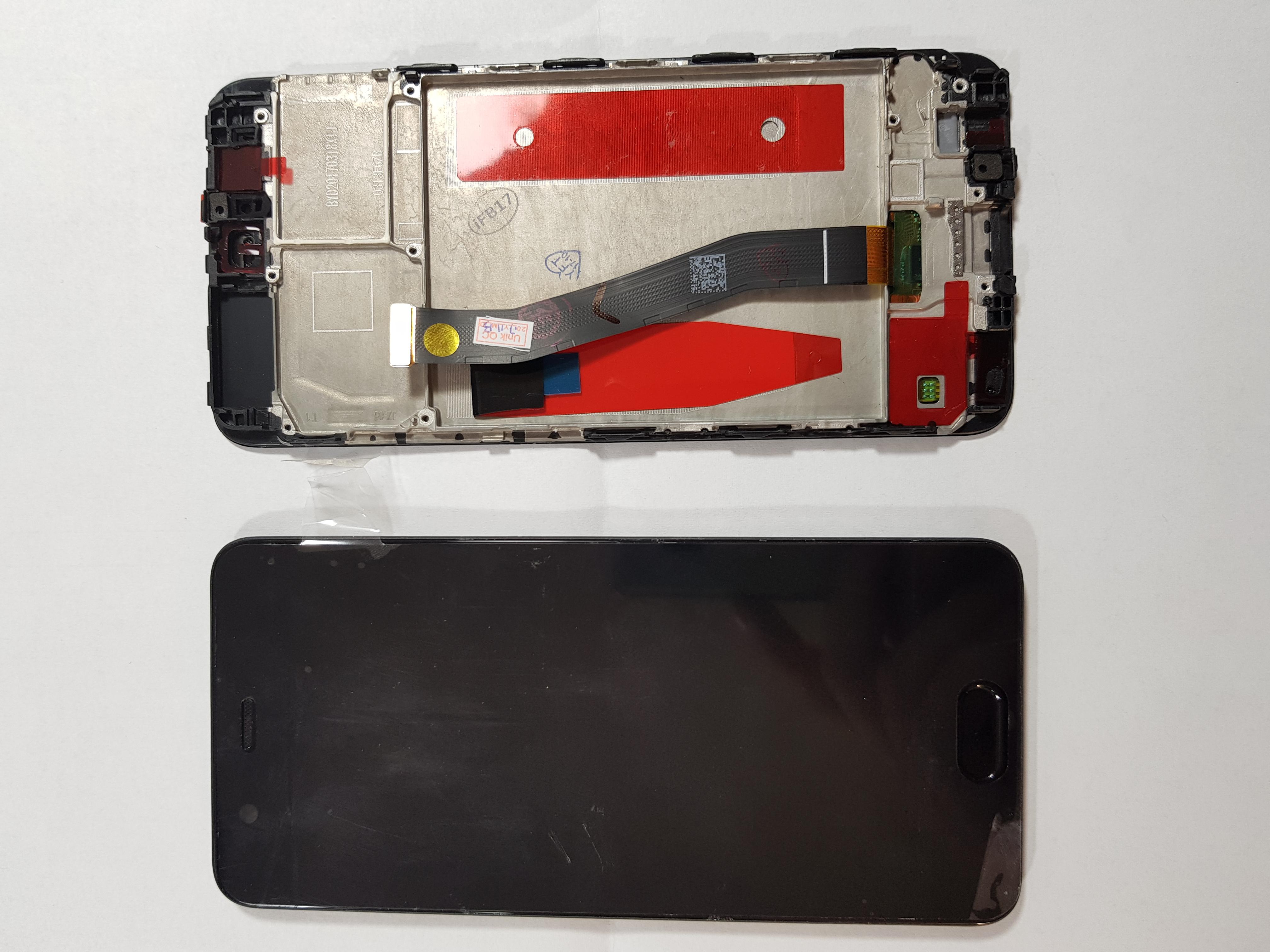 Ecran Display Huawei P10 cu rama midle Negru 0