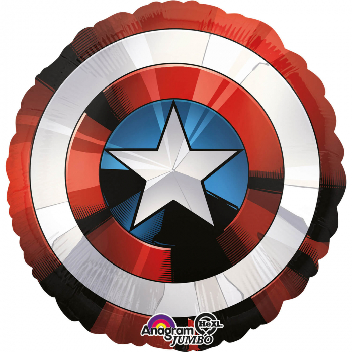Balon Folie Jumbo Scut Avengers  - 71x71 cm [0]