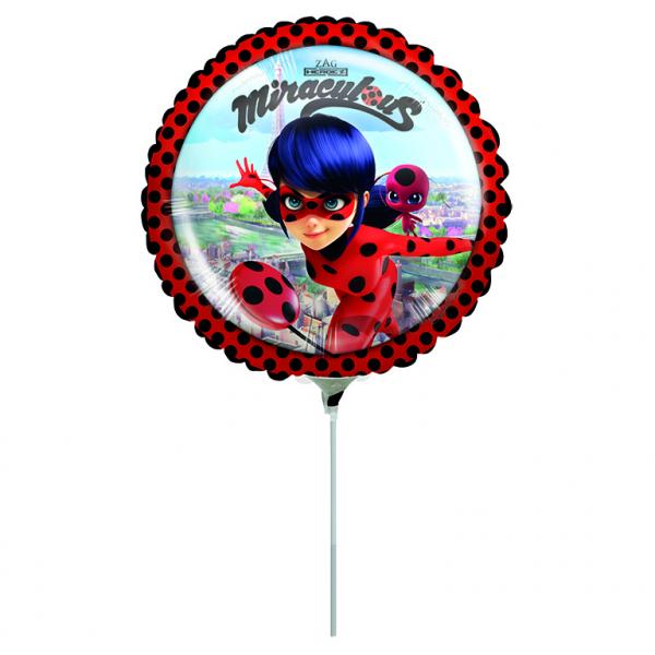Balon Folie Buburuza Miraculous - 23 cm [0]