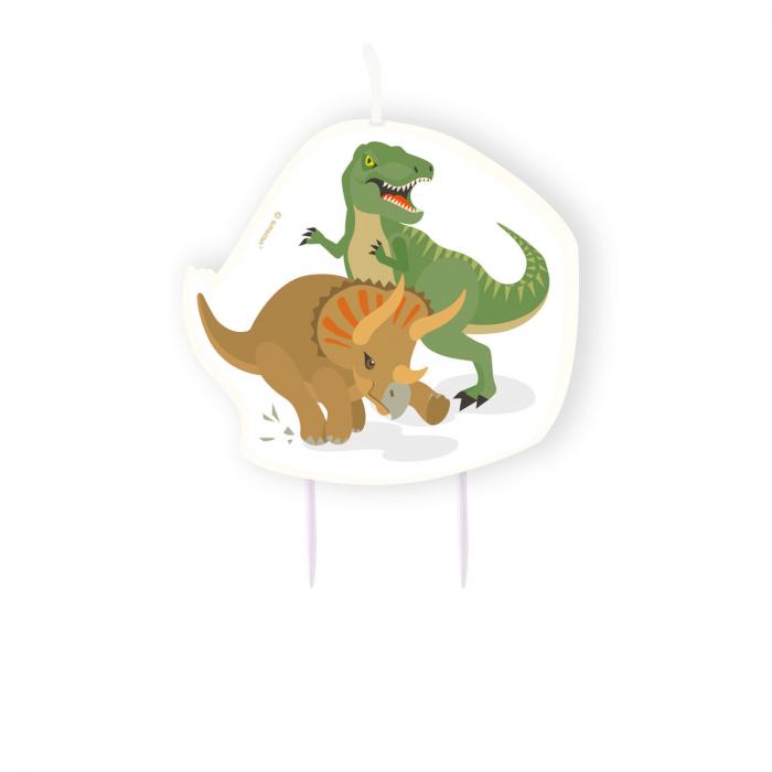 Lumanare Dinozaur, 10 cm 0