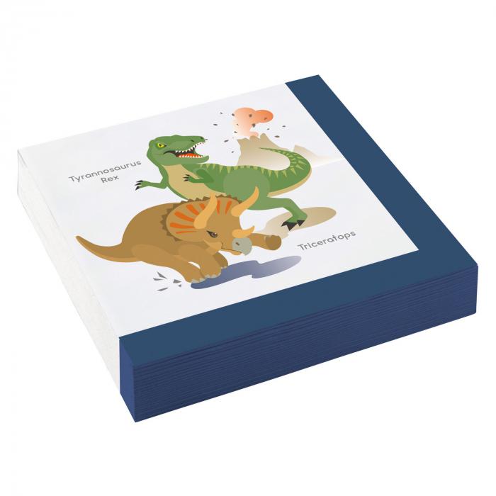 Set 20 Servetele Dinozaur 0