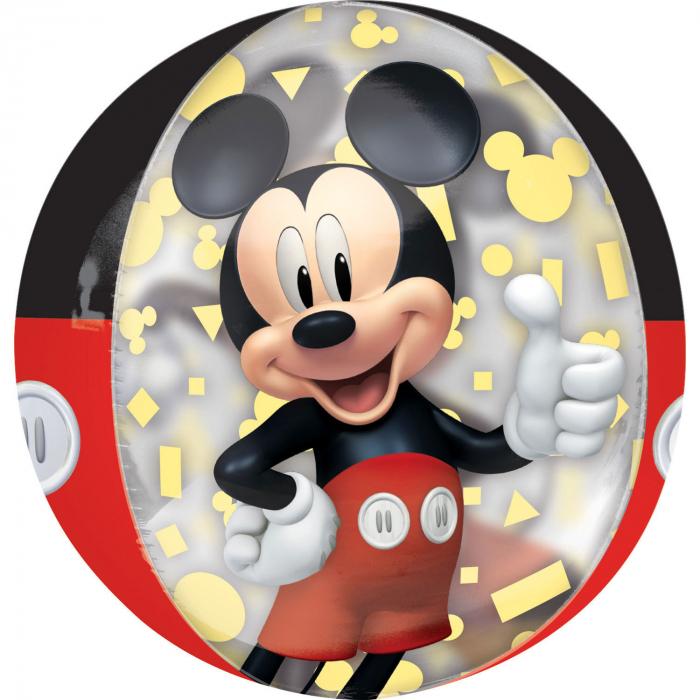 Balon Folie Orbz, Mickey Mouse Forever - 38x40 cm [0]