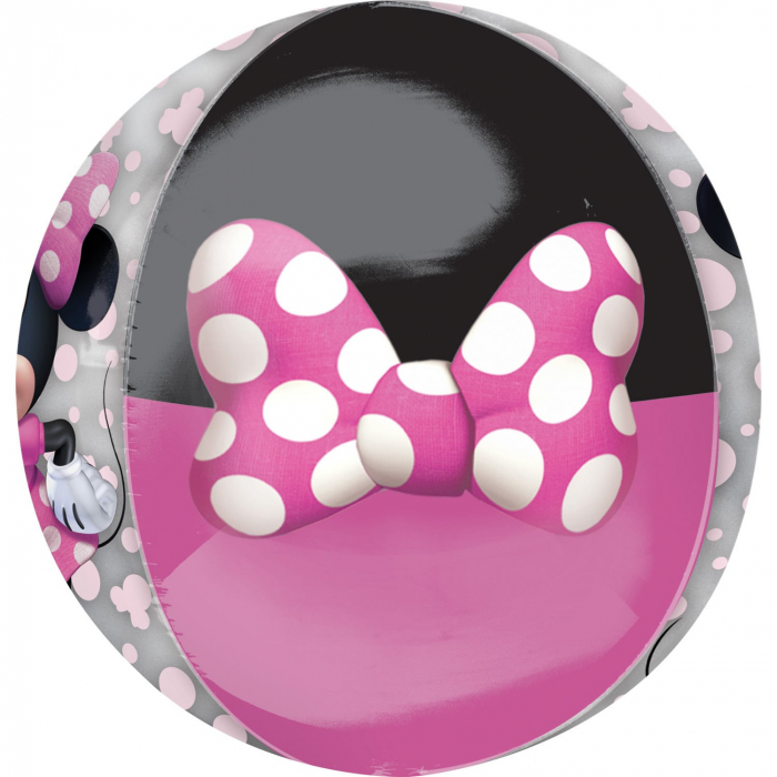 Balon Folie Orbz, Minnie Mouse Forever - 38x40 cm 1