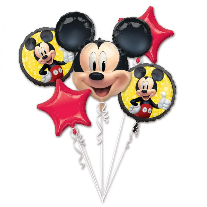 Buchet 5 Baloane Mickey Mouse Forever [0]
