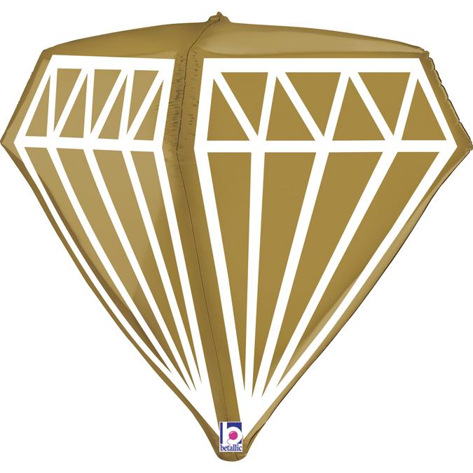 Balon Folie Diamant 4D - 61 cm [1]