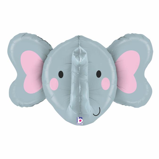 Balon Folie 3D Cap Elefant - 86 cm [0]