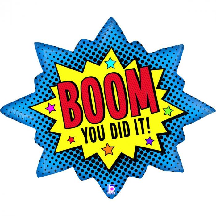 Balon Folie Boom You Did It! - 81 cm [0]