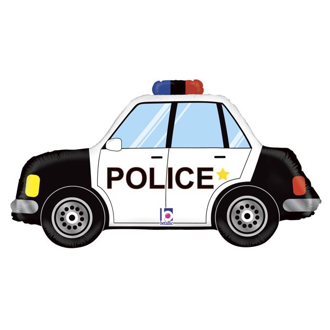 Balon Folie Masina Politie - 86 cm [0]