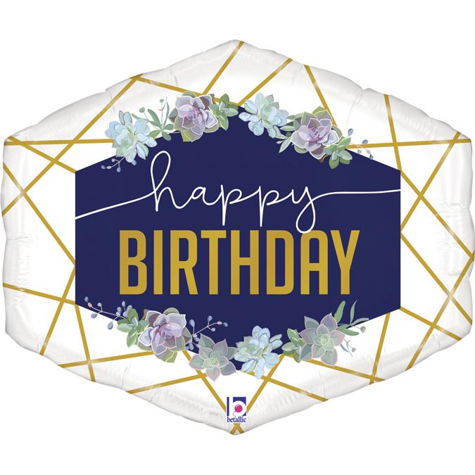 Balon Folie Happy Birthday - 76 cm [0]