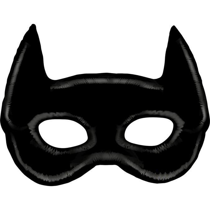 Balon Folie Masca Batman - 114 cm [0]