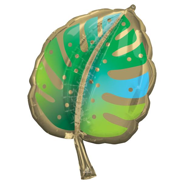 Balon Folie Frunza Palmier - 55 x 76 cm [0]