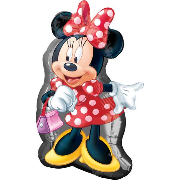 Balon Folie Minnie Mouse - 48x81 cm [0]