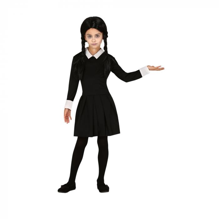 Costum Wednesday Familia Addams 7 - 9 ani [0]
