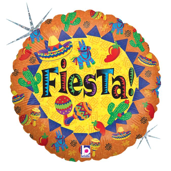 Balon Folie Fiesta - 46 cm [0]