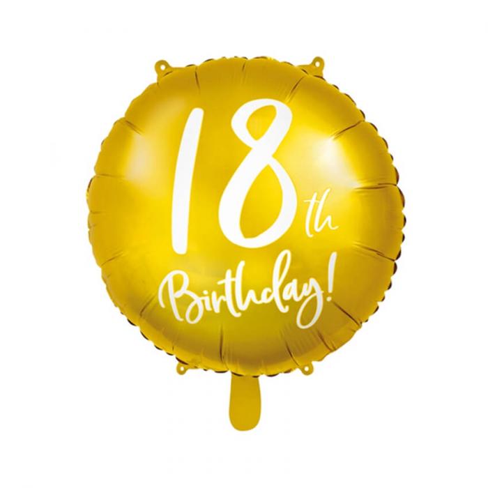 Balon Folie 18 ani - 45 cm 5