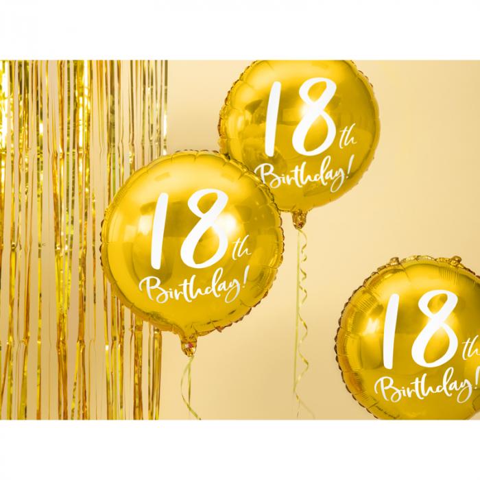 Balon Folie 18 ani - 45 cm 1