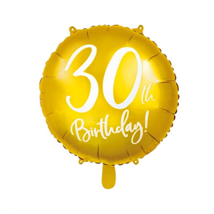 Balon Folie 30 ani - 45 cm 7