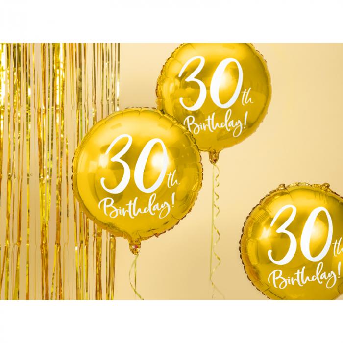 Balon Folie 30 ani - 45 cm 1
