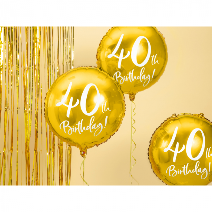 Balon Folie 40 ani - 45 cm 1