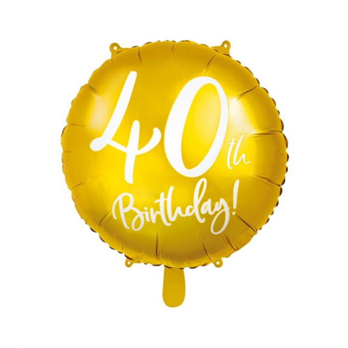 Balon Folie 40 ani - 45 cm 5