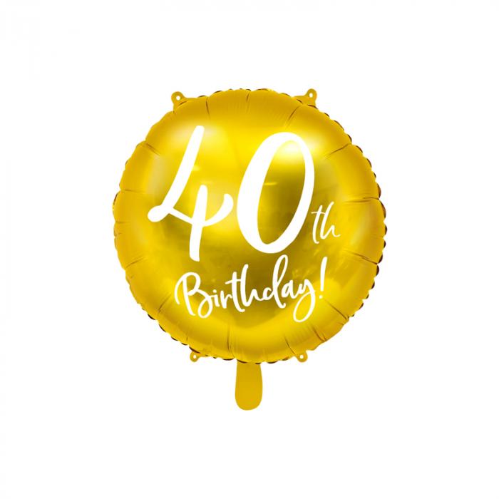 Balon Folie 40 ani - 45 cm 0