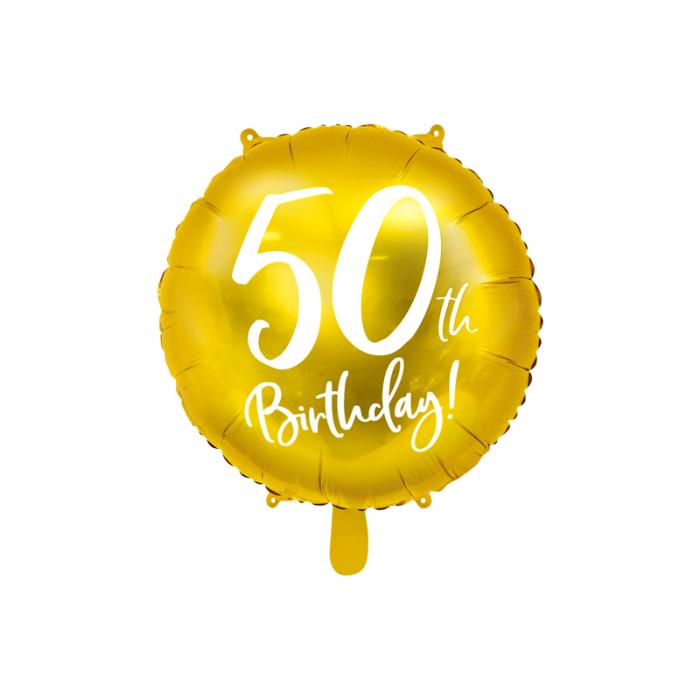 Balon Folie 50 ani - 45 cm 0