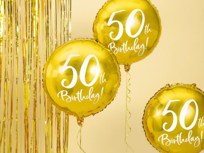 Balon Folie 50 ani - 45 cm 6