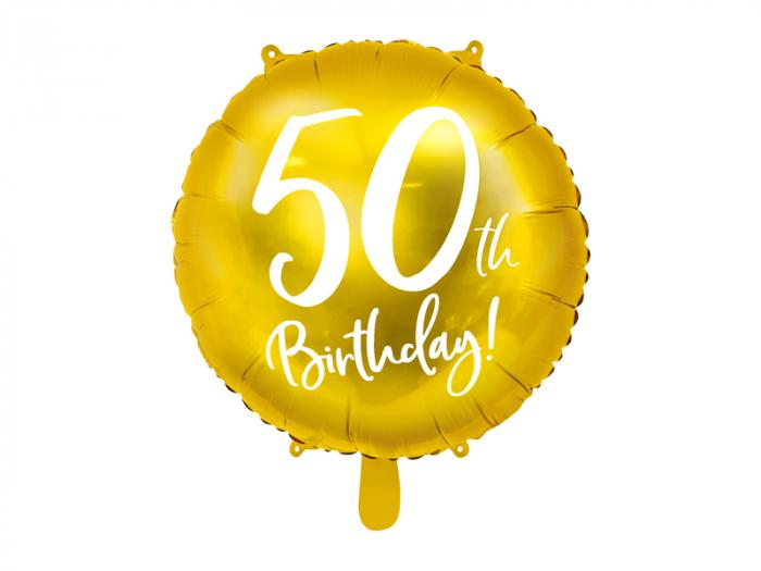 Balon Folie 50 ani - 45 cm 5