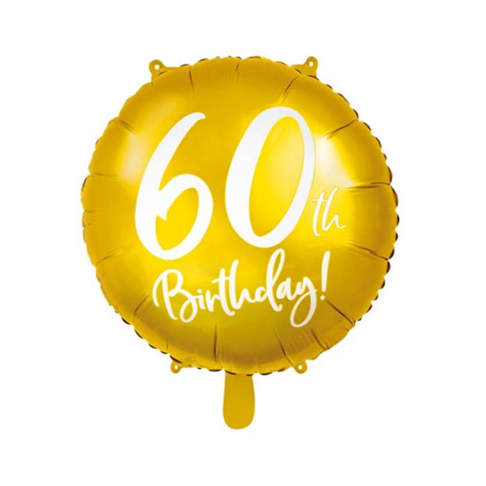Balon Folie 60 ani - 45 cm 5