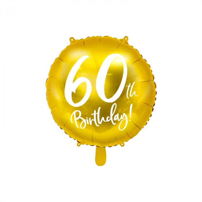 Balon Folie 60 ani - 45 cm 0